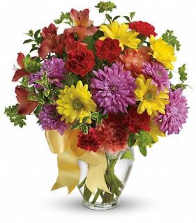 Send The Teleflora Color Me Yours Bouquet