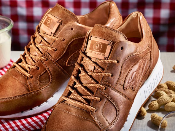 "Afew Store x Kangaroos Coil R1 ""Peanut Butter"""