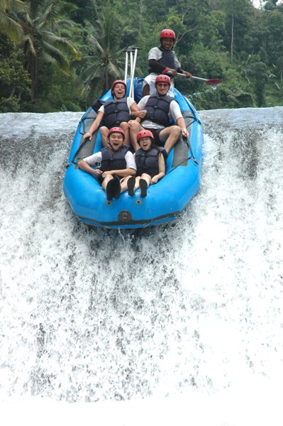 Rafting on The River of Bali