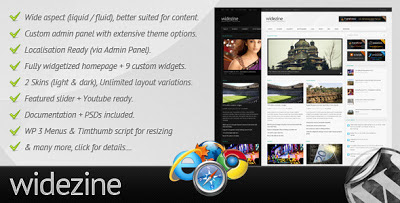 WideZine Wordpress Theme
