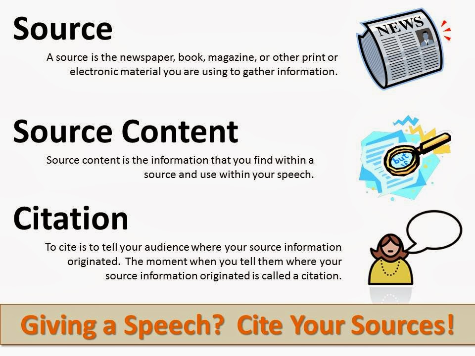 Cite your sources to prove you are an ethical person who cares enough about your topic to have studied it thoroughly!