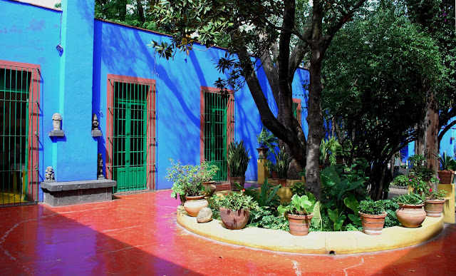 Frida Kahlo&#39;s La Casa Azul in Coyoacan