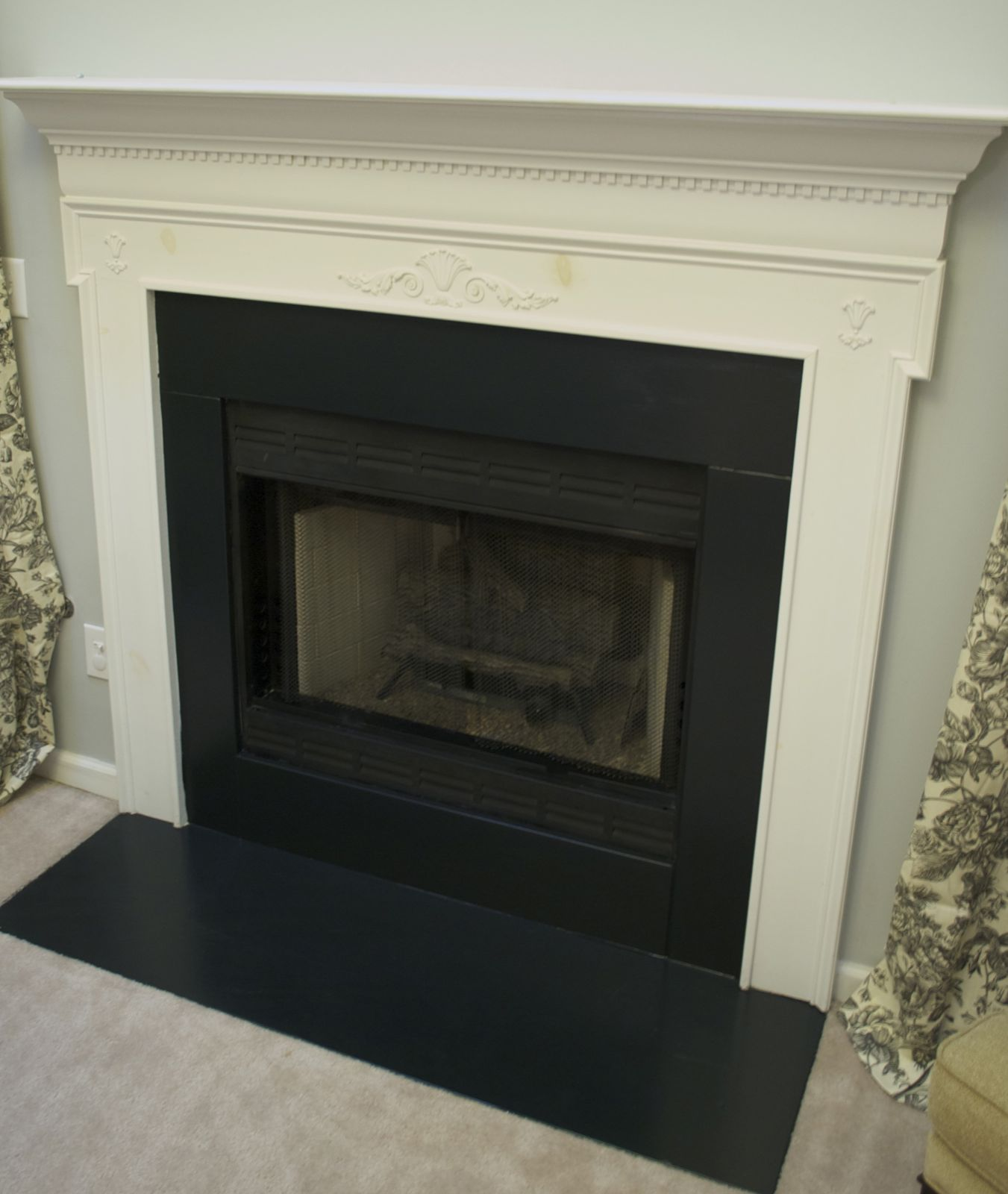 low country living fireplace painting. Black Bedroom Furniture Sets. Home Design Ideas