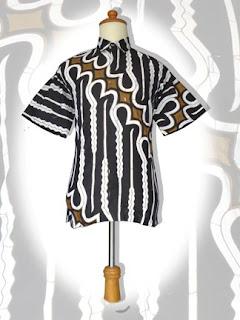 batik+parang BAJU BATIK wanita pria dan anak muda
