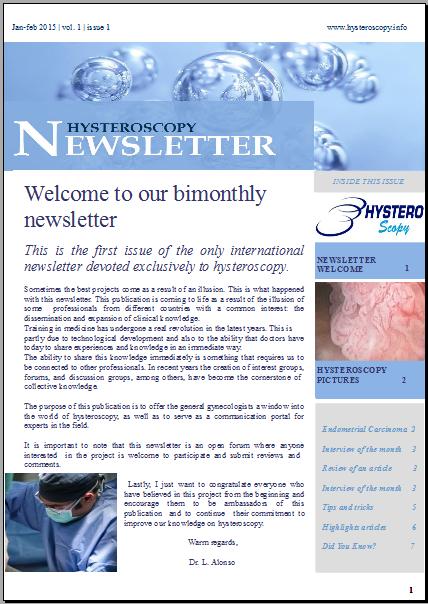 Revista sobre histeroscopia