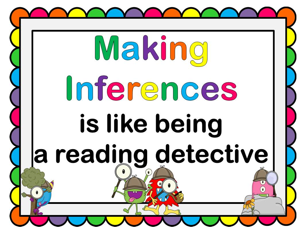 Free Resources: Inferencing Mini-Posters and Worksheets