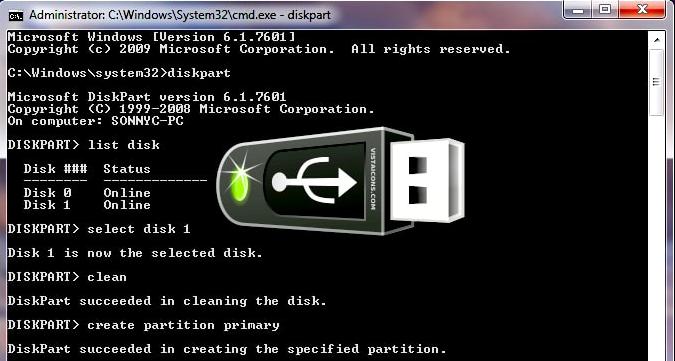 USB पैन ड्राइव को बूटएबल ड्राइव कैसे बनायें
