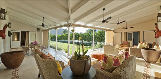 Safari Fusion blog | Outdoor living | Wine estate surrounds at La Cle des Montagnes, Franschhoek South Africa
