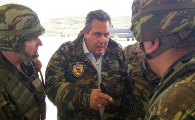 """Το μισθολόγιο ο Καμμένος και η """"διαταγή 227"""" που του έχουν εκδώσει οι στρατιωτικοί"""