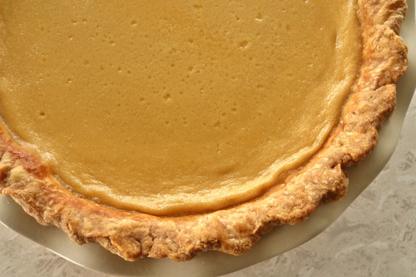 Mission: Food: Maple Buttermilk Custard Pie