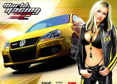 racing game cargirl wallpaper 32F2VWE8SUSM