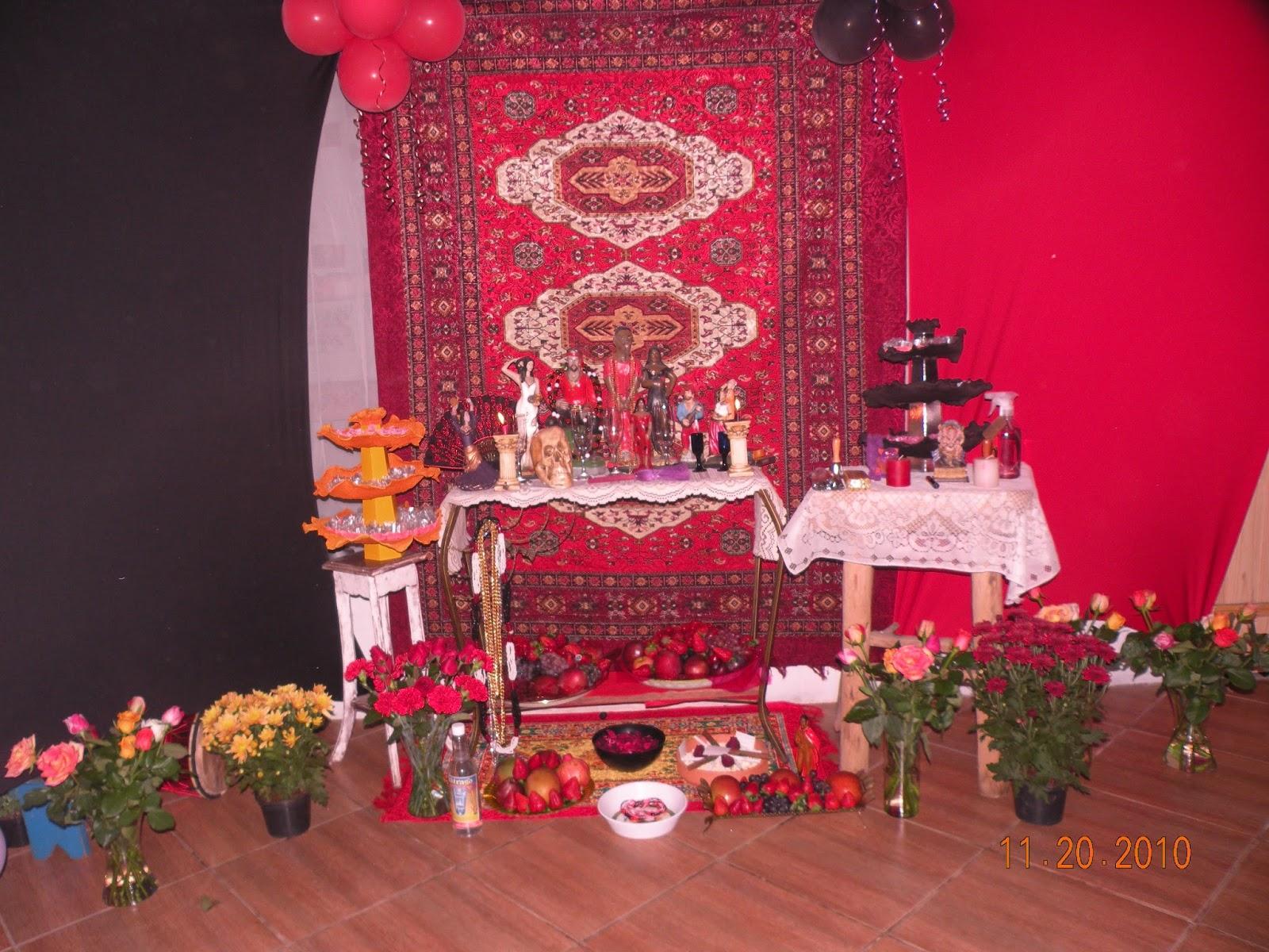decoracao festa xango:Decoração – sessão de ciganos (2010)