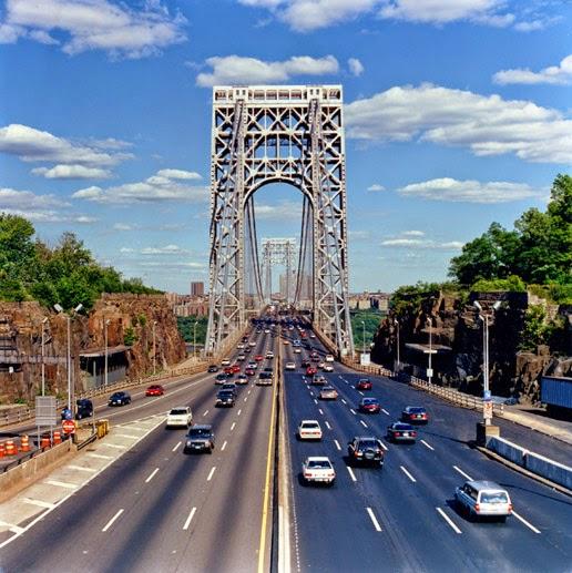 جسر جورج واشنطن : أكثر جسر في العالم يحتوي على ممرات سيارات