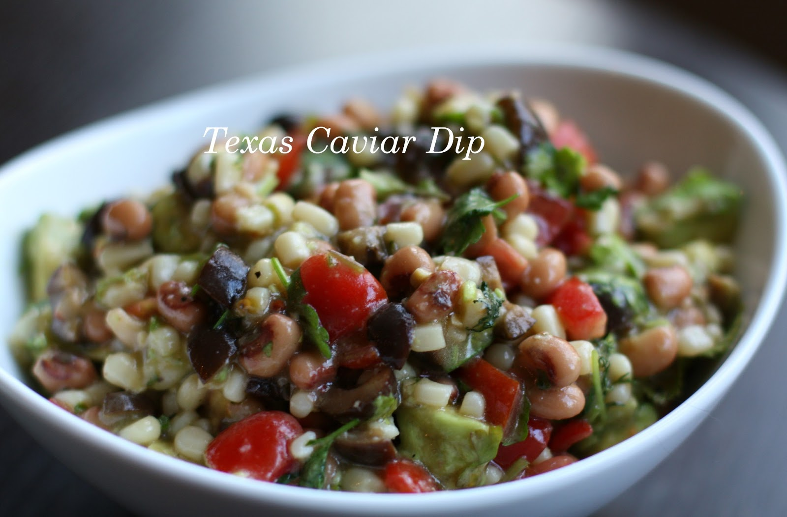 Texas Caviar Dip #Recipe | Recipe Obsessed