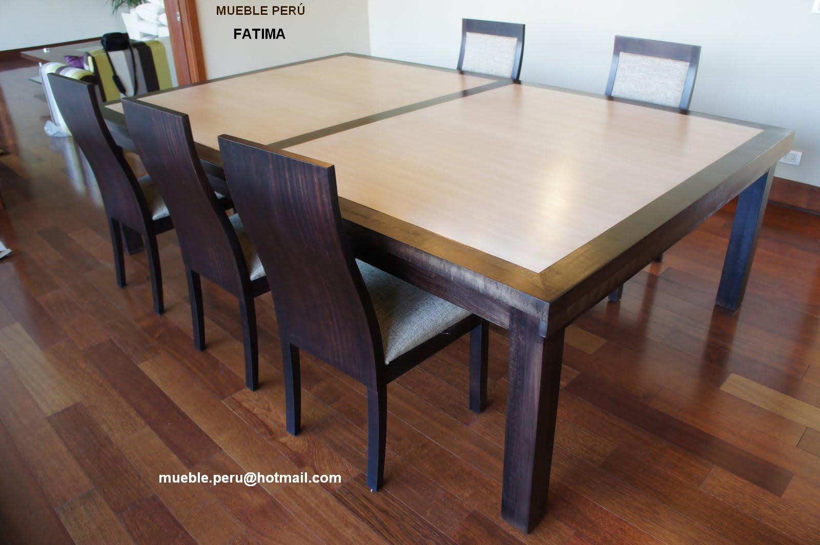 Comedores muebles per comedores elegantes for Fabrica de comedores
