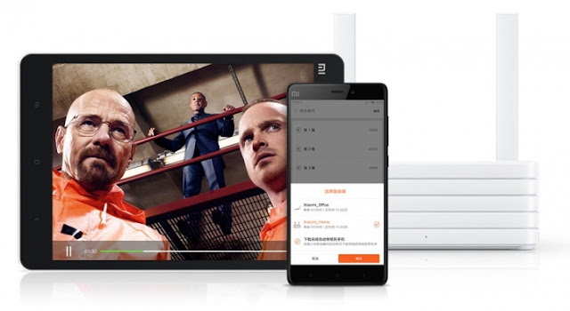 Xiaomi Mi Wi-Fi - NAS em casa