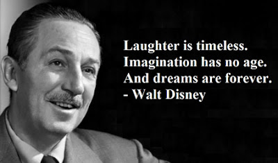 Walt Disney on Laughter, Imagination, and Dreams