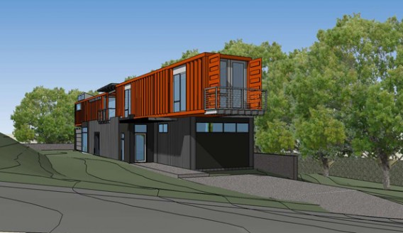 Texas container homes jesse c smith jr consultant gelband loveman container house - Container homes texas ...