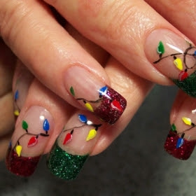 Christmas nail design ideaschristmas speace colors used in this season as well as learn how to apply the most voguish christmas nail design ideas with the must have nail kit tools and products prinsesfo Images