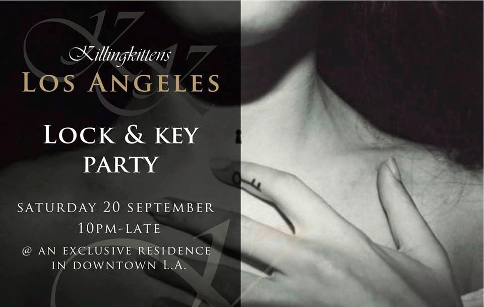 Lock and key sex party