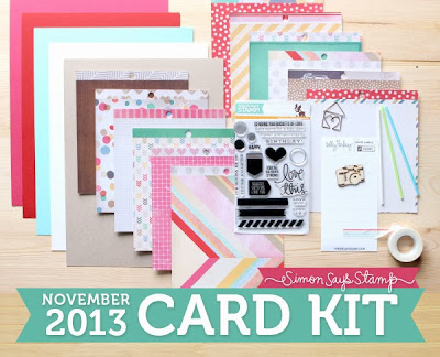 The Daily Marker Simon Says Stamps November Card Kit Giveaway