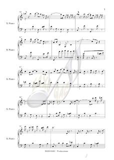 6 Partitura de El Golpe para piano