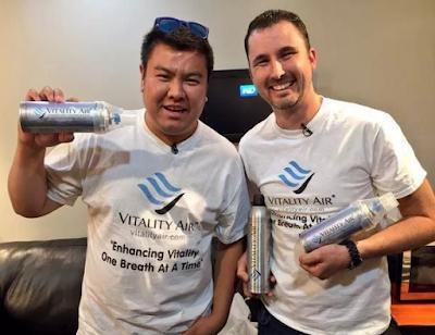 Vitality Air – Η πρώτη επιχείρηση που πουλάει καθαρό αέρα σε σπρέι