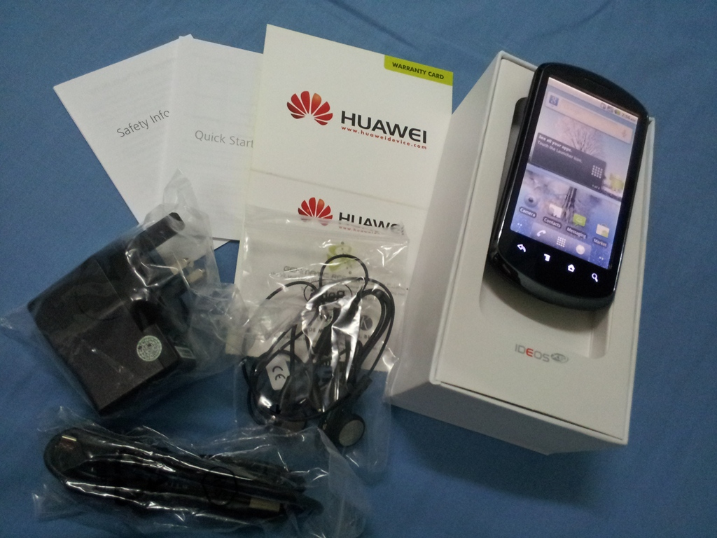 The Phone For You Huawei Ideos X5 New