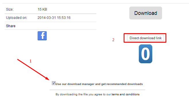 cara download di tusfiles