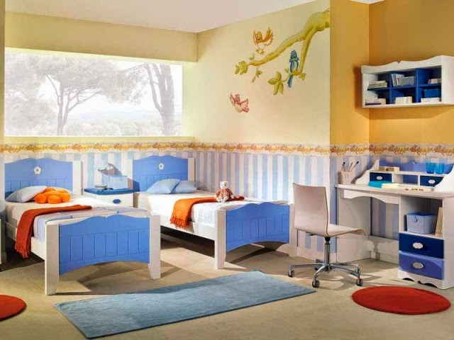 Dise os de cuartos para dos ni os dormitorios colores y for Habitacion dos ninos
