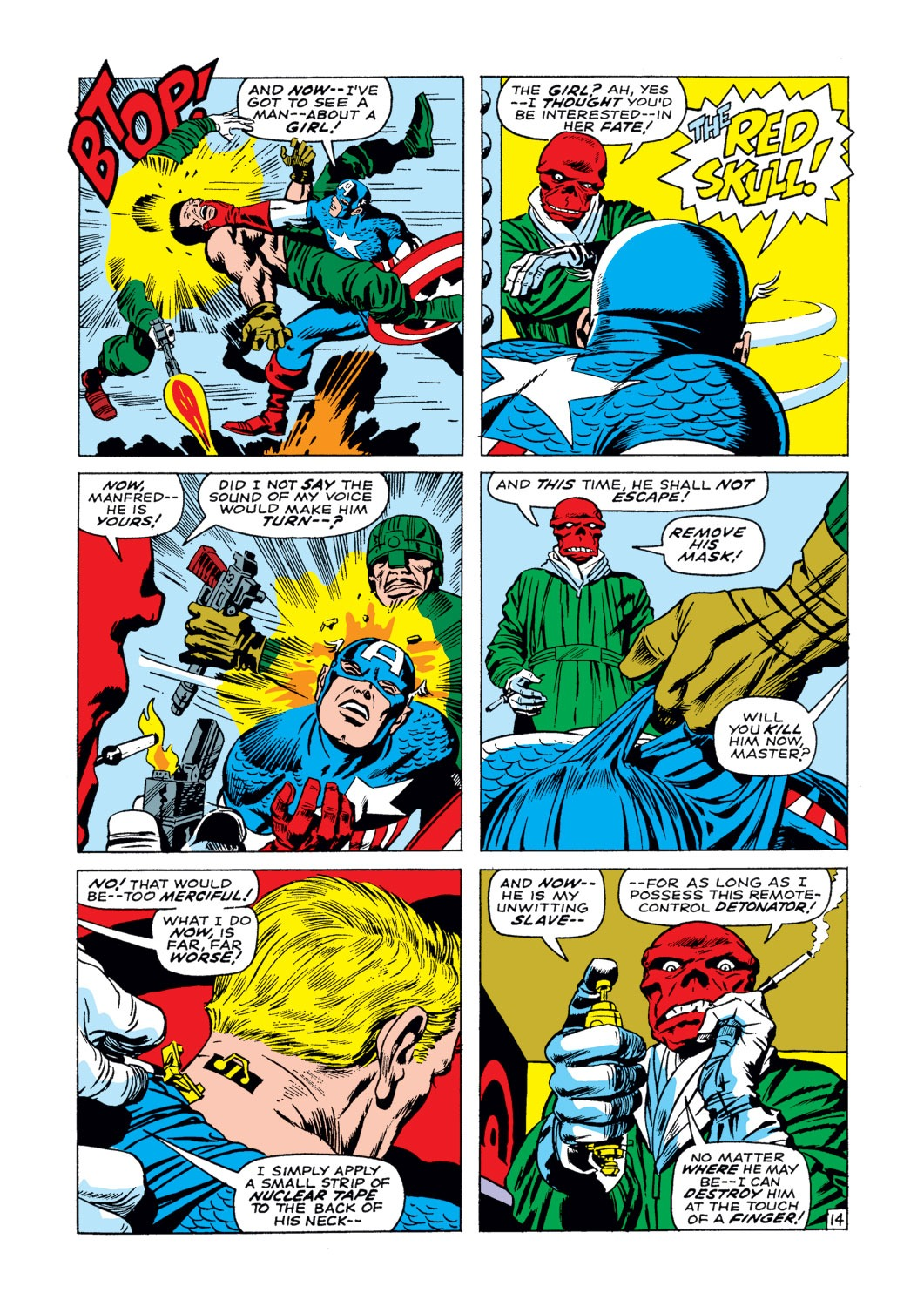 Captain America (1968) Issue #103 #17 - English 15