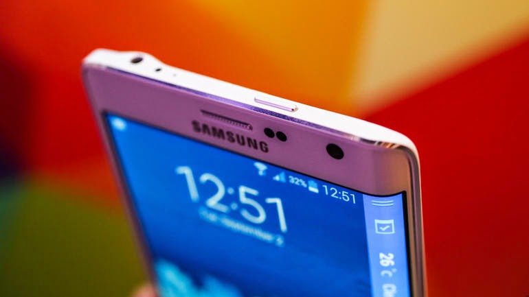 percentuale batteria barra di stato Galaxy S6 Android