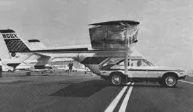 The aircraft at Oxnard Airport, Oxnard, California - August 1973