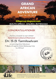 4Life Gold Getaway Winner From Malaysia