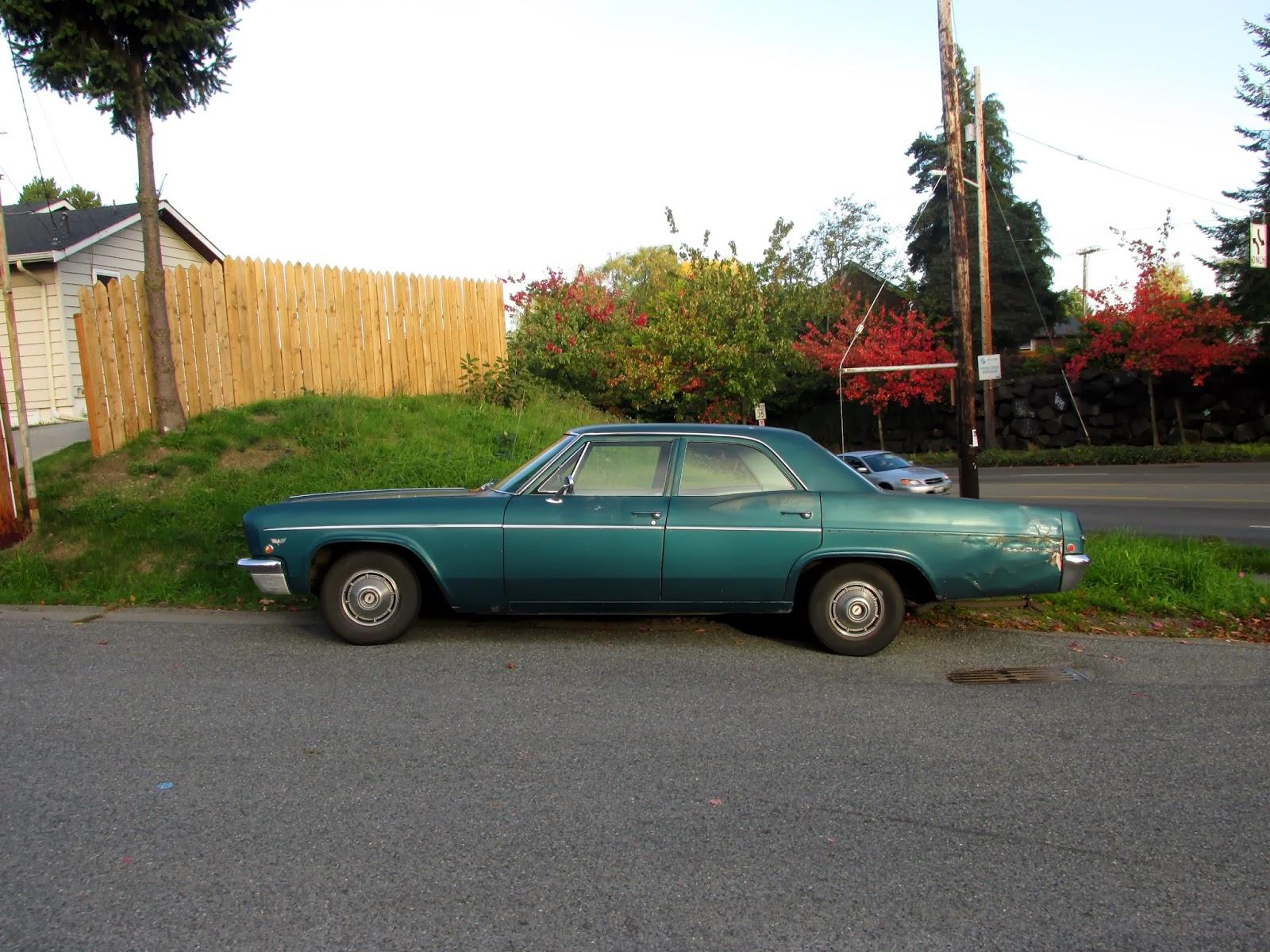 Seattles Classics 1966 Chevrolet Bel Air Wagon