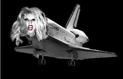 Lady Gaga vs. The Space Shuttle