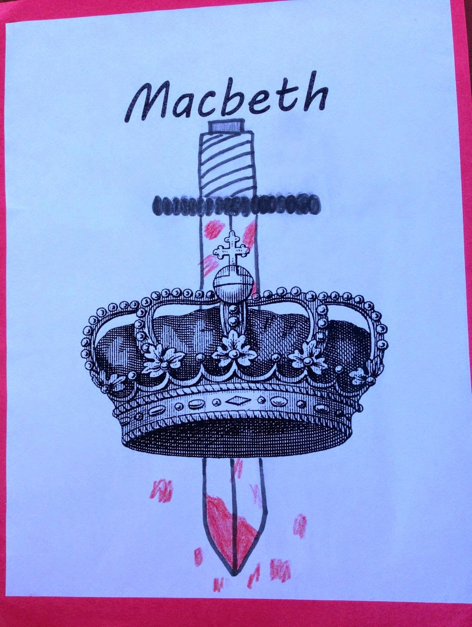 Book Cover Ideas Projects : Smallworld teaching macbeth book covers and poem activity