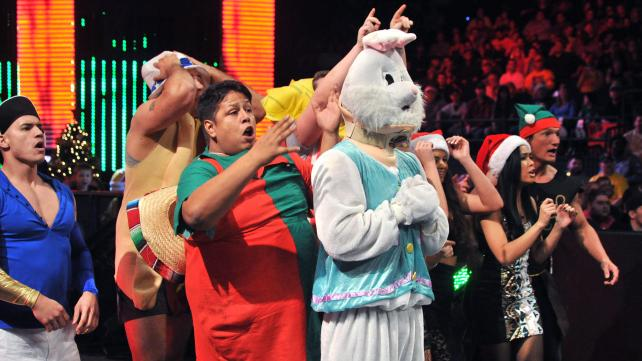 Adam Rose NXT The Bunny Justin Gabriel Rosebuds Lemons Raw