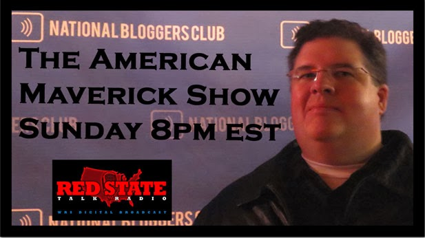 "Sundays 8PM EST ""The American Maverick Show"" on WCHV"