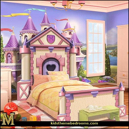 Princess Room : - castle theme beds - fairy princess theme bedroom ideas - Princess ...