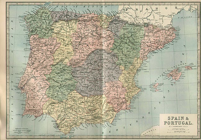 Castilla la Vieja y Castilla la Nueva 1880