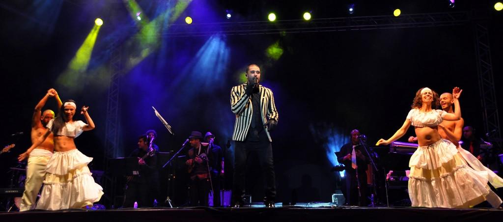 Diogo Nogueira  no Festival de Inverno de Teresópolis