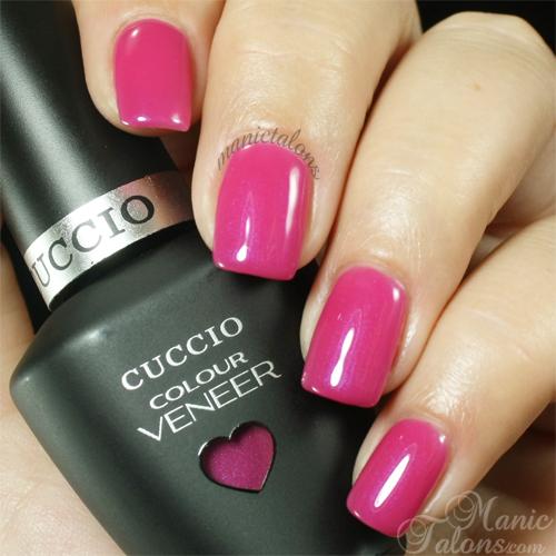 Cuccio Colour Veneer Pink Cadillac Swatch