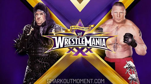 WWE WrestleMania 30 PPV Streak Match Brock Lesnar vs Undertaker