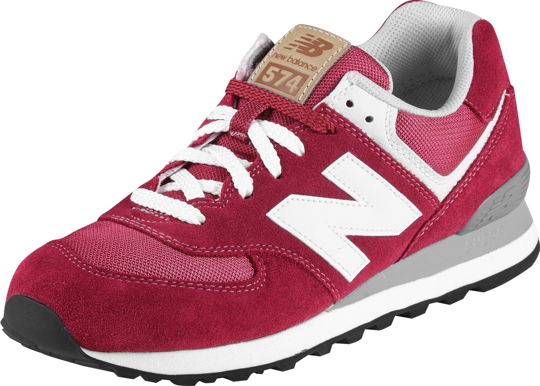 new balance ml 574 red