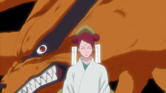 mito uzumaki and kyuubi