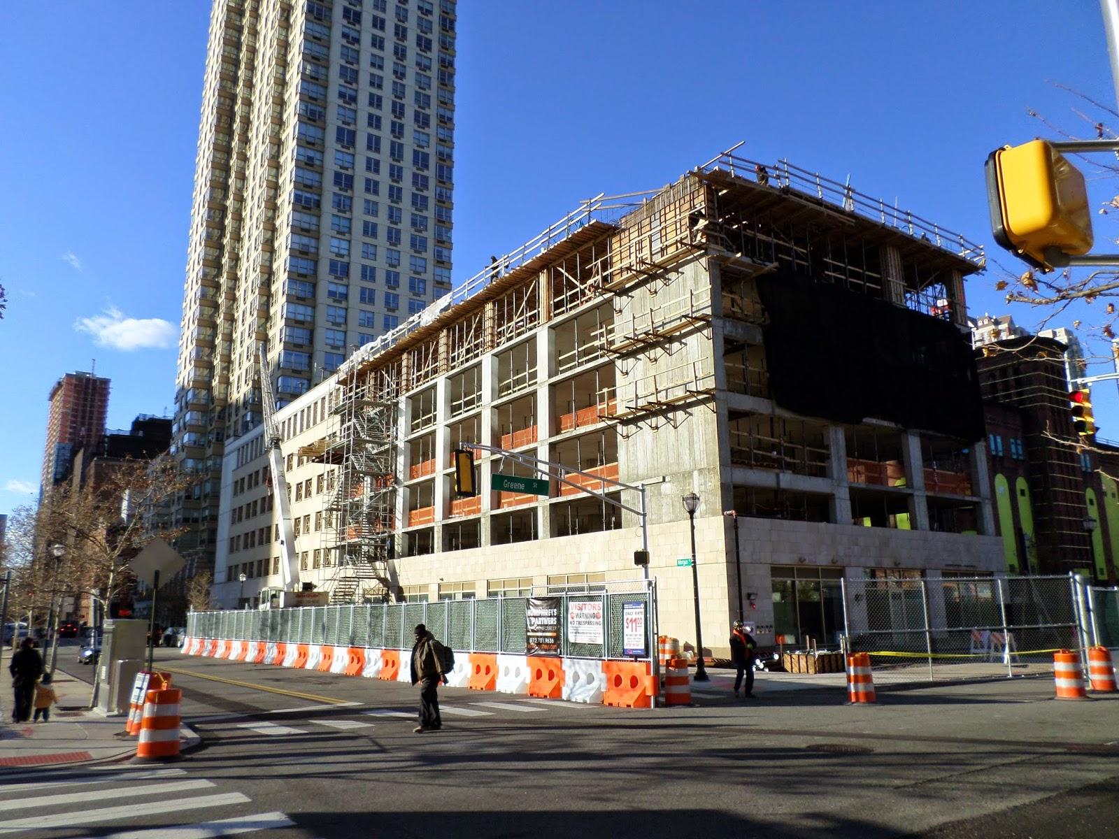 Newark jersey city and new york city 11 21 2014 for Trump plaza new york city