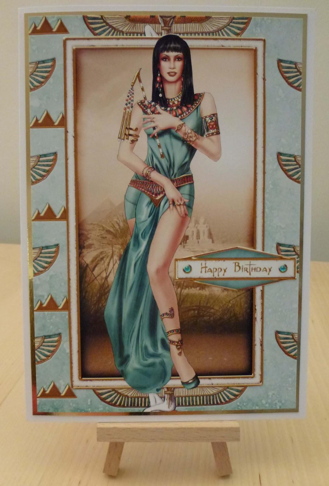 Paper Panda Walk Like An Egyptian – Egyptian Birthday Cards