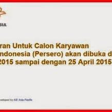 Lowongan Kerja Calon Karyawan PT POS Indonesia Terbaru