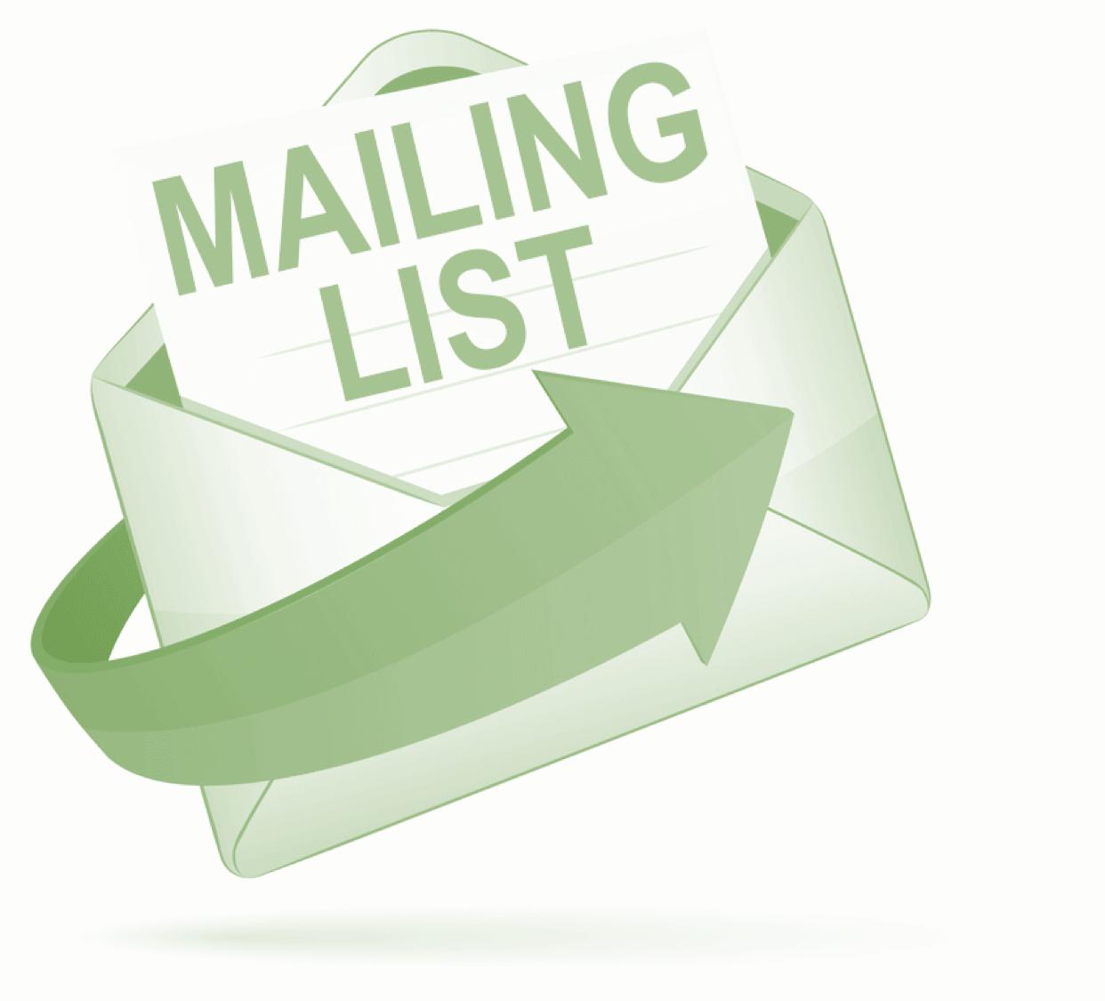 Iscriviti alla mailing list